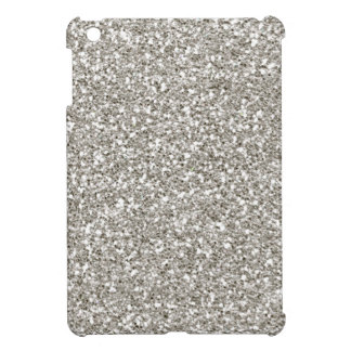 Silver Glitter Mini iPad Case-Christmas, Hanukkah! iPad Mini Cover