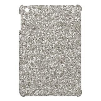 Silver Glitter Mini iPad Case-Christmas, Hanukkah! iPad Mini Cover