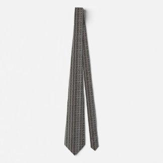 Silver Glitter Ropes Tie