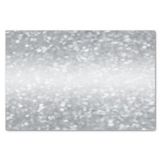 Silver Glitter Tissue Paper