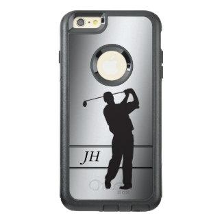 Silver Golfer Monogram OtterBox iPhone 6/6s Plus Case