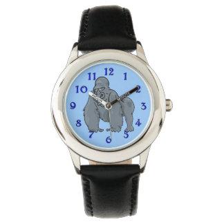 Silver Gorilla Cartoon Watch