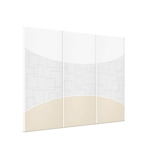 Silver/Gray/Gold Minimal Modern Gallery Wrap Canvas