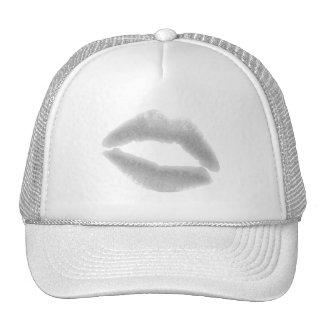 SILVER GRAY SNOWFLAKE KISS LIPS FASHION BEAUTY MAK CAP