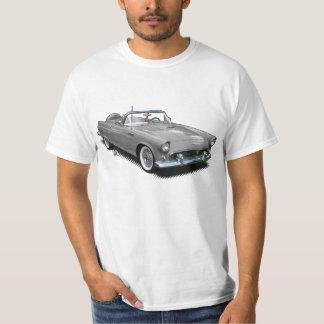 silver gray Vintage Classic T-Bird T-Shirt. T-Shirt