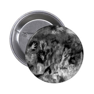 Silver Hands Pinback Button