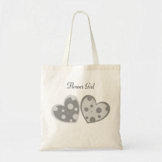Silver Hearts Bag