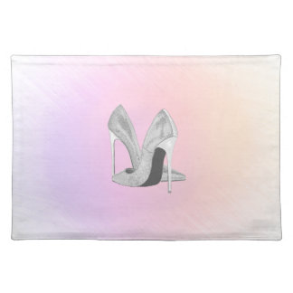 Silver Heels Pastels Placemat