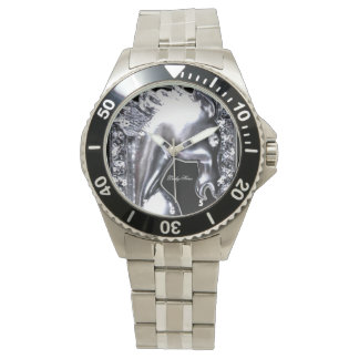 Silver Horse Watch