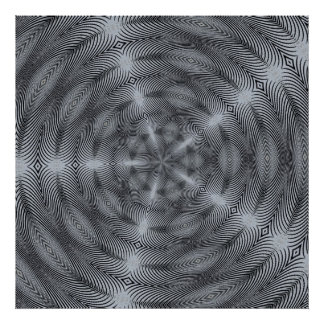 Silver Hypnosis Poster