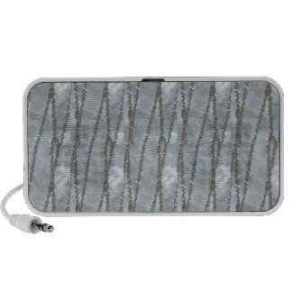 SILVER Jewel Strands Graphics Photo GIFTS enjoy iPod Speakers
