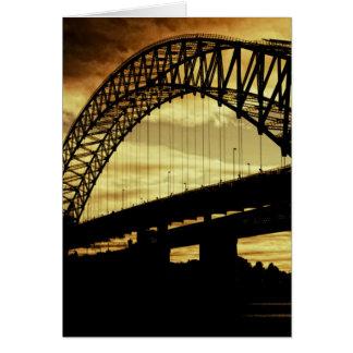 Silver Jubilee Bridge Greeting Cards