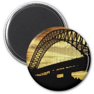 Silver Jubilee Bridge Magnet