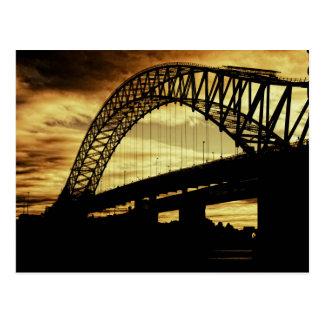 Silver Jubilee Bridge Postcard