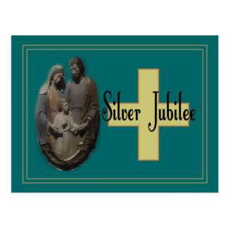 Silver Jubilee Gifts For Nuns Postcard