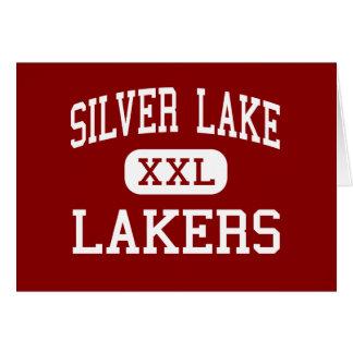 Silver Lake - Lakers - High - Kingston Greeting Card
