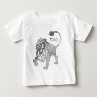 Silver Leo Lion Zodiac Baby Creeper