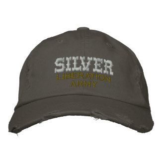 SILVER Liberation Army, Embroidered Hats