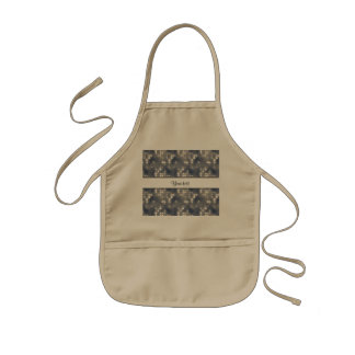 Silver Lights Kids Apron