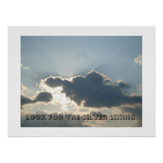 SILVER LINING CLOUDS poster