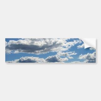 Silver Lining Clouds Sky Bumper Sticker
