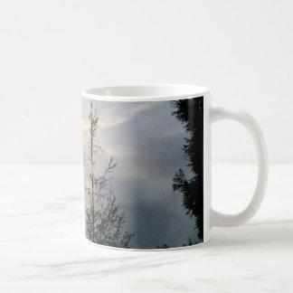 Silver Lining Basic White Mug