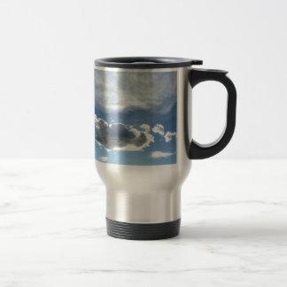 Silver Lining Stainless Steel Travel Mug