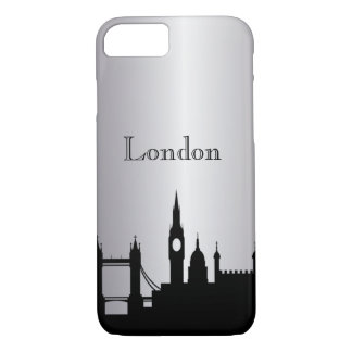 Silver London Silhouette Phone & Ipad Cases