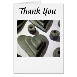Silver Love Hearts Greeting Card