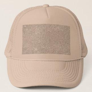 Silver Luxury Design Trucker Hat