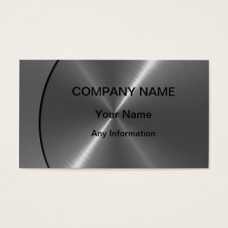 Silver Luxury Metal Business Cards