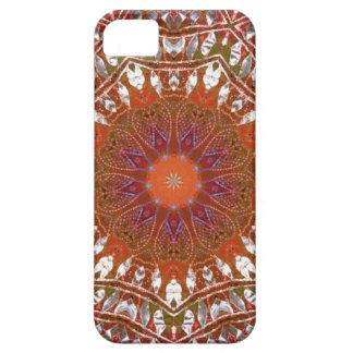 Silver Mandala Case For The iPhone 5