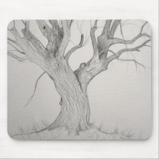 Silver Maple Mouse Pad