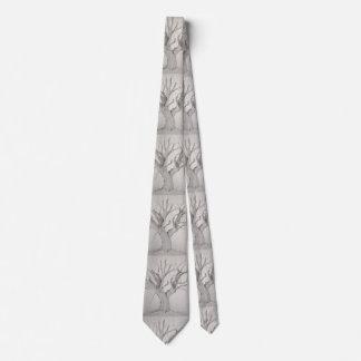 Silver Maple Tie