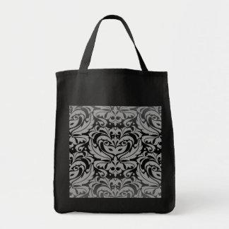 Silver Masquerade Mask Treat Halloween Bag