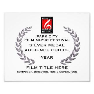 "Silver Medal Certificate 10"" x 8"" Photo Art"