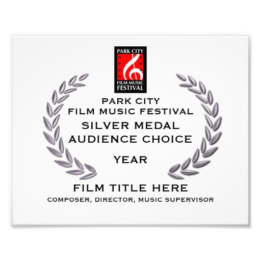 "Silver Medal Certificate 10"" x 8"" Photo"