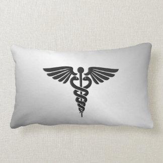 Silver Medical Caduceus Lumbar Cushion