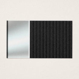Carbon fibre business cards business card printing zazzle silver metal look on carbon fiber business cards reheart Choice Image