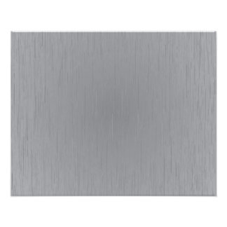 Silver Metal Look Photographic Print
