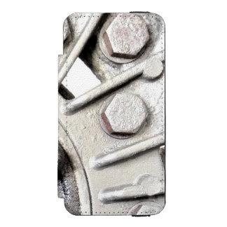 Silver Metal Rivets Incipio Watson™ iPhone 5 Wallet Case