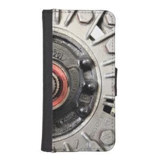 Silver Metal Rivets iPhone SE/5/5s Wallet Case