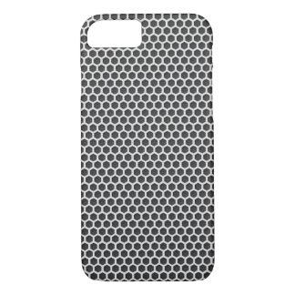 Silver Metal Screen Pattern iPhone 7 Case