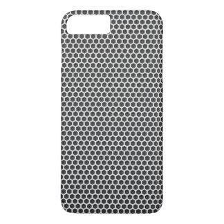Silver Metal Screen Pattern iPhone 7 Plus Case