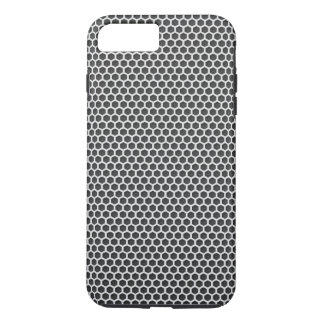 Silver Metal Screen Pattern iPhone 7 Plus Case
