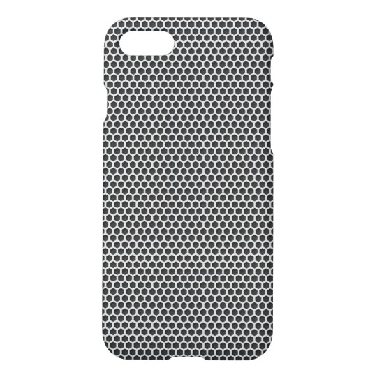 Silver Metal Screen Pattern iPhone 8/7 Case