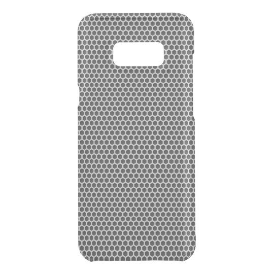 Silver Metal Screen Pattern Uncommon Samsung Galaxy S8 Plus Case