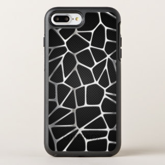 Silver Metal Web Abstract | Phone Case