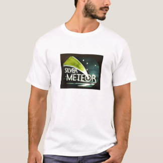 Silver Meteor Railroad Sign T-Shirt
