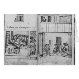 Silver mine of La Croix-aux-Mines, Lorraine Greeting Cards